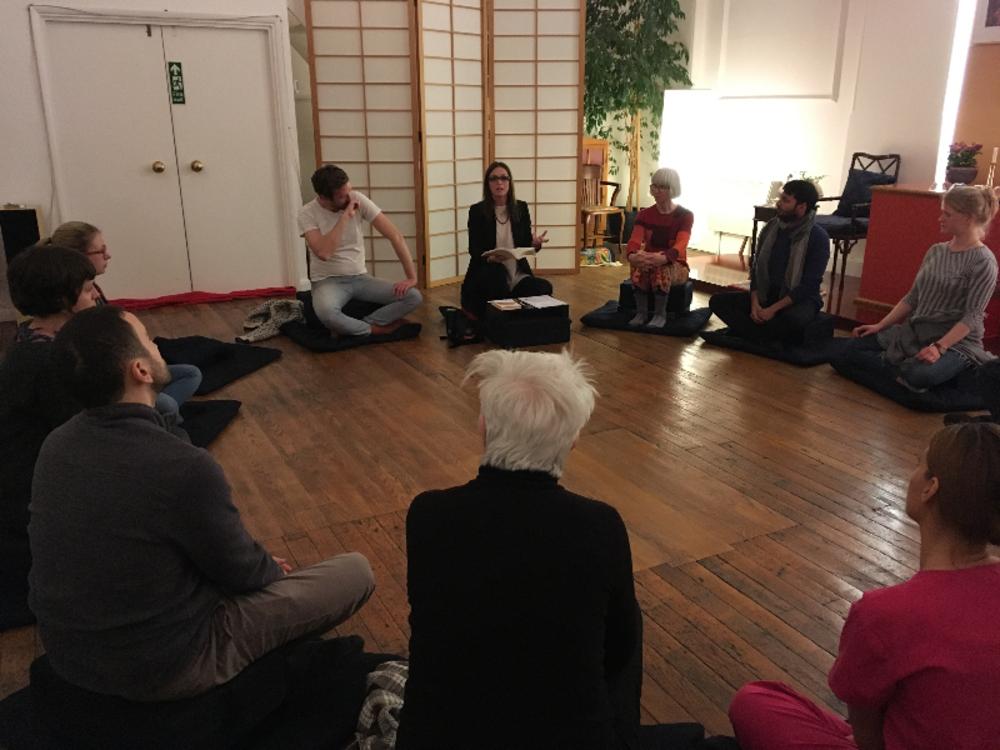 Meditation classes london