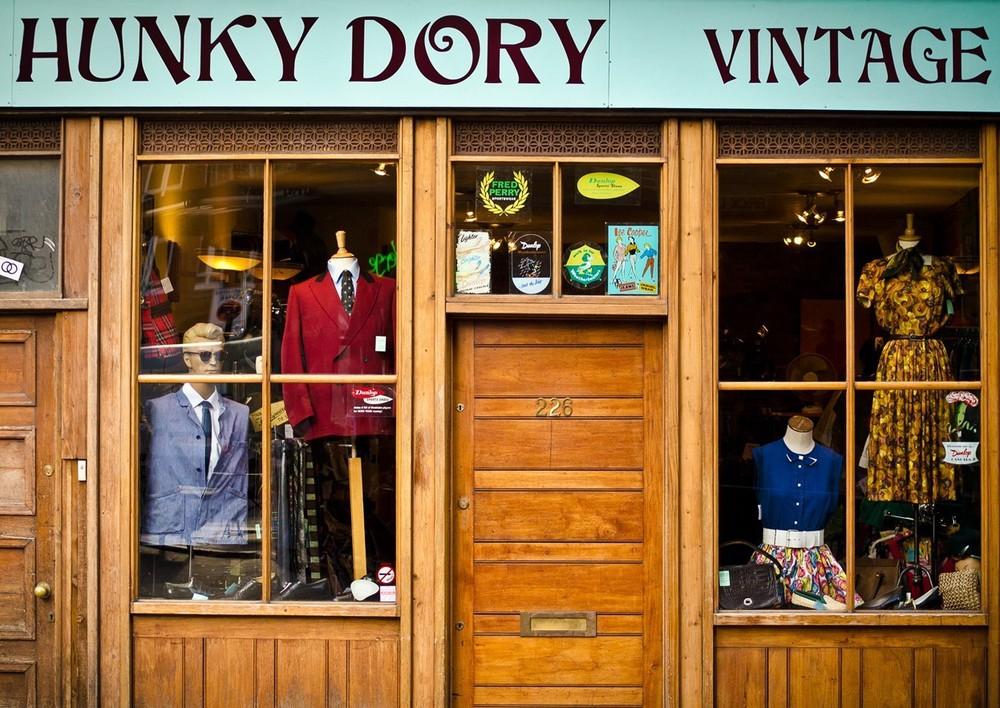 Vintage Shops In Shoreditch Observe London